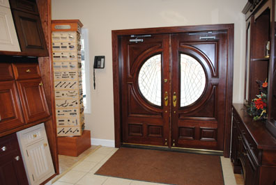 wood_front_door_with_round_windows